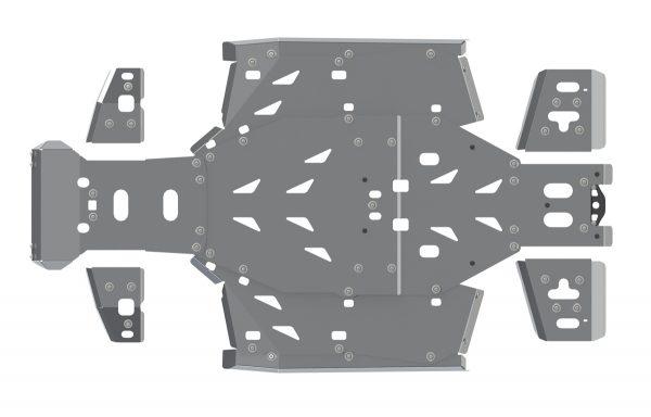 Комплект защиты днища для CFMOTO U8W