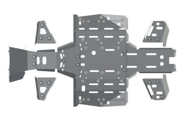 Комплект защиты днища для CFMOTO CFORCE 500 HO / X5 H.O. / X6 EPS