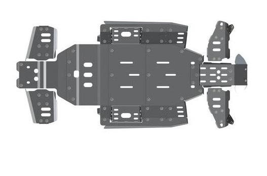 Комплект защиты днища для CFMOTO Z10 EPS
