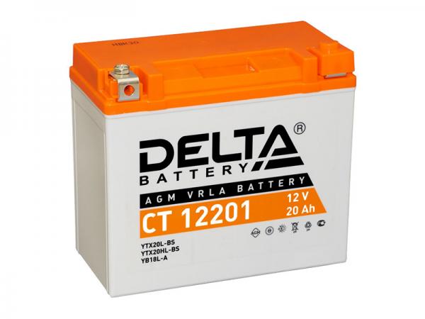 Аккумулятор Delta, AGM АКБ 18Ah