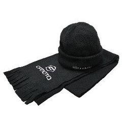 Флисовый комплект шапка и шарф
