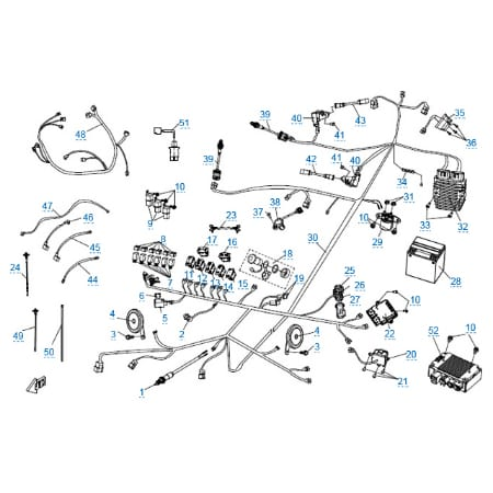 Электрическая система (eps) для CFMOTO Z10 EFI&EPS