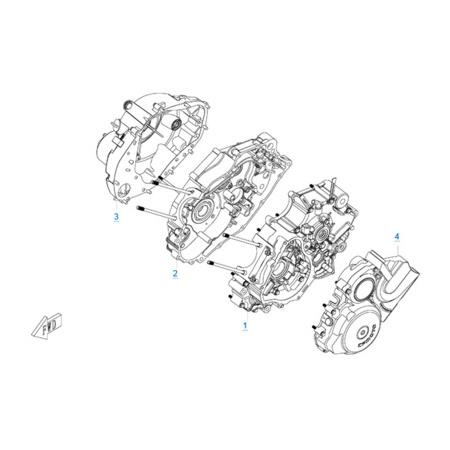 Двигатель 157MJ-3A