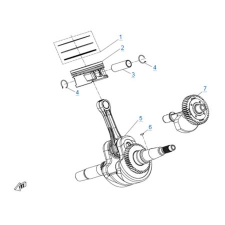 Двигатель 191S