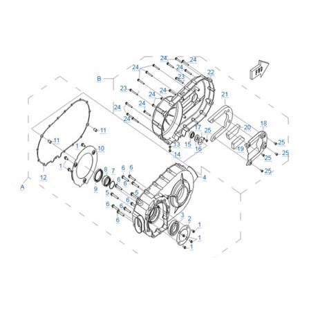 Двигатель 196S-C