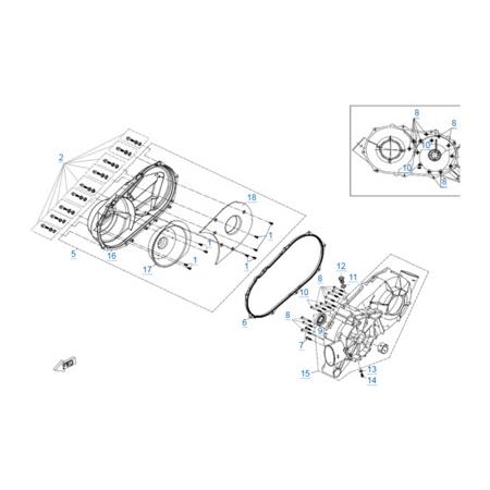 Двигатель 2V91W-A