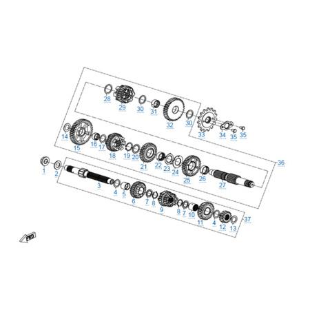 КПП 2 двигателя 172MM-2A