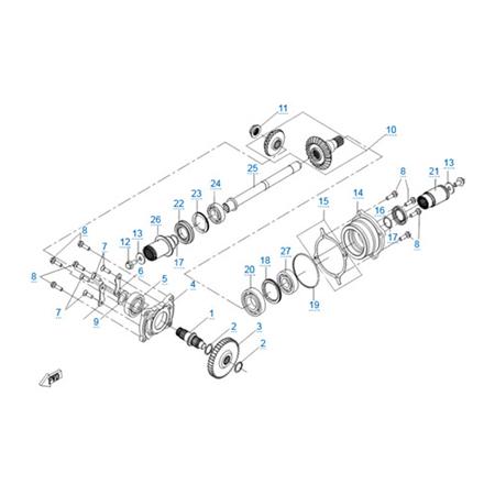 КПП 2 двигателя 191Q