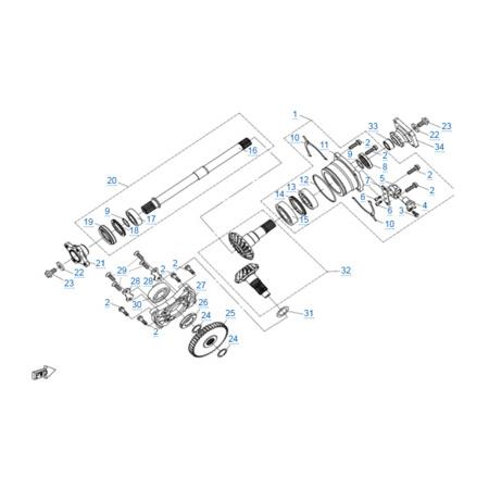КПП 2 двигателя 2V91Y
