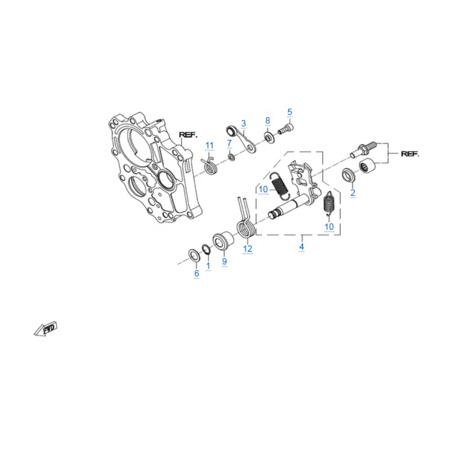 Двигатель 268MQ