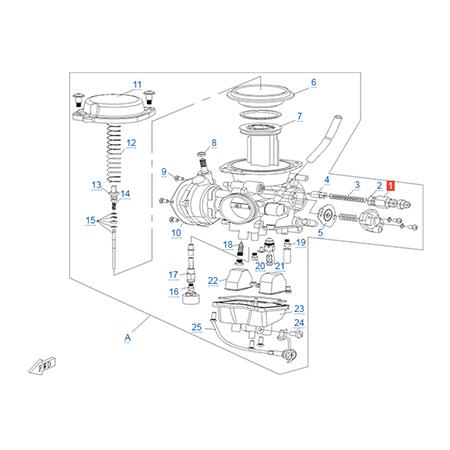 Карбюратор двигателя CF188