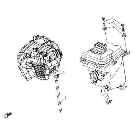 Оснастка двигателя для CFMOTO 150 NK