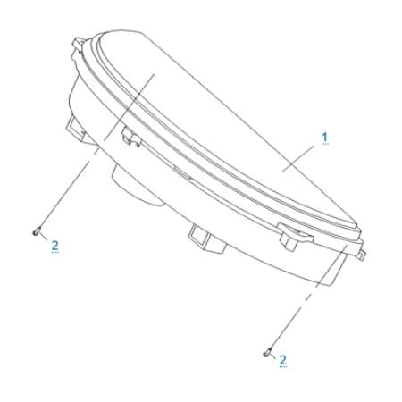 Панель приборов для CFMOTO 250 JETMAX