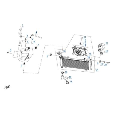 Запчасти для CFMOTO 650 MT (ABS)