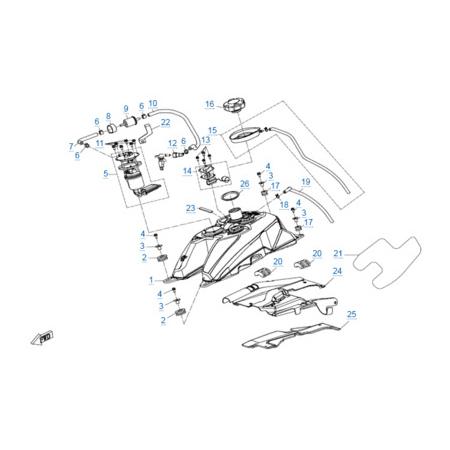 Топливная система для CFORCE 600 EPS