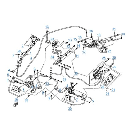 Запчасти для CF500-3