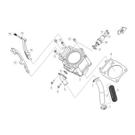 Цилиндр двигателя CF188