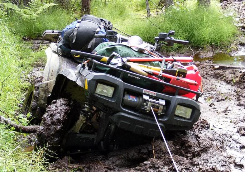 Подготовка квадроцикла к езде по грязи